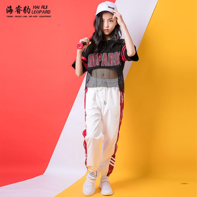 Ngày thiếu nhi trang phục khiêu vũ jazz nữ hip hop hiphop hip-hop biểu diễn phù hợp với học sinh tiểu học - Trang phục