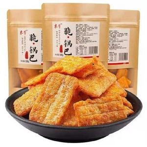 米芾脆锅巴零食休闲小吃