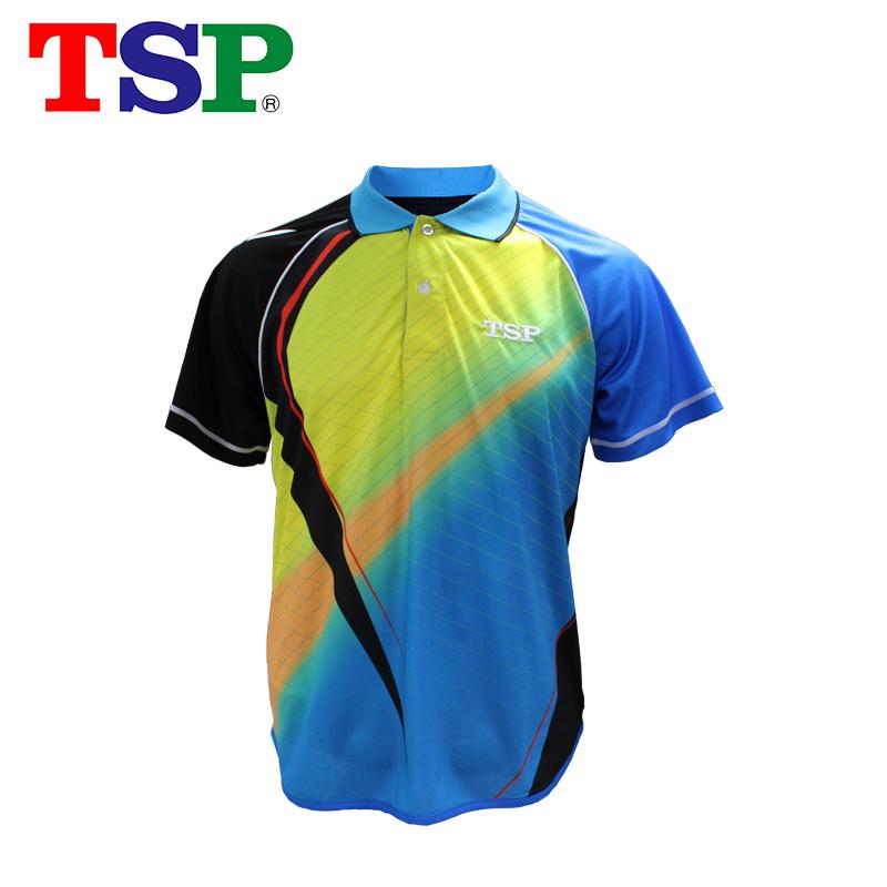 2018新款TSP乒乓球服装球衣比赛服男女运动训练短袖 83111