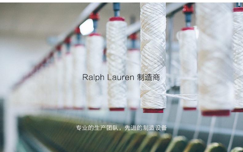 拉夫劳伦制造商 本米 男V领100%澳洲美利奴羊毛衫 图3