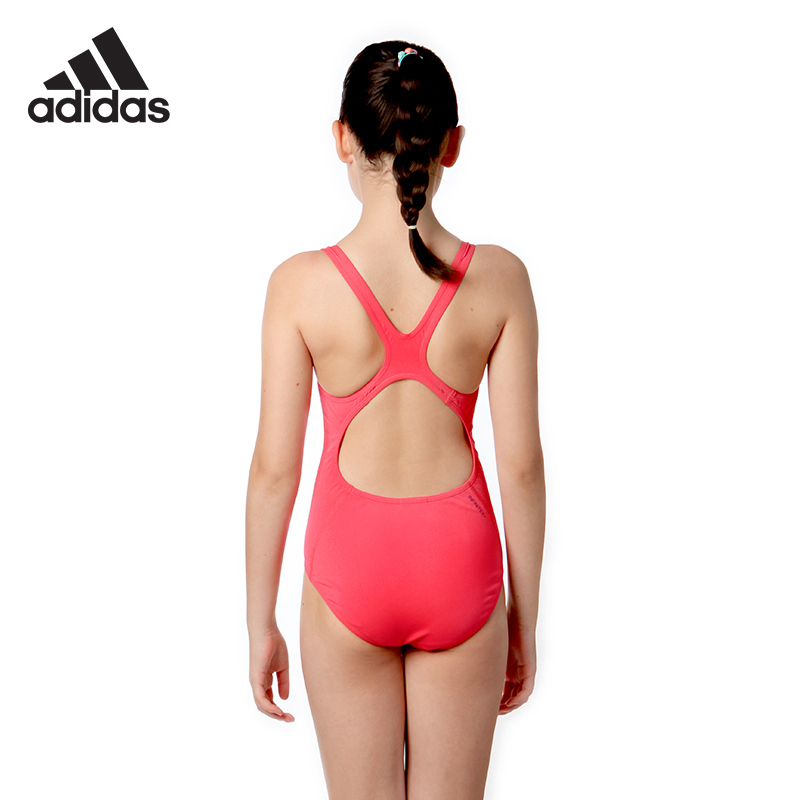 1120f1f8039 Adidas adidas children's swimwear girls baby professional quick-drying  training Siamese triangle swimsuit big boy