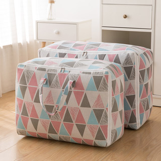 Cotton Quilt Storage Bag Finishing Bag Clothing Large Giant Capable Household Big Mac Moving Baggage Packing Bag