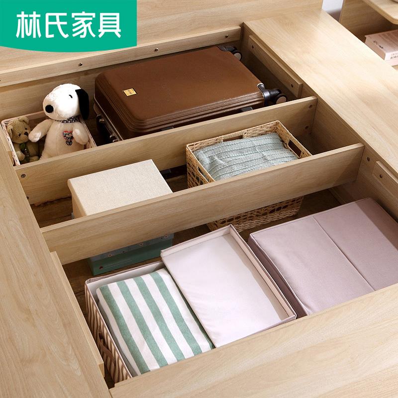 классическая кровать Lin  1.5 1.8 DJ2A