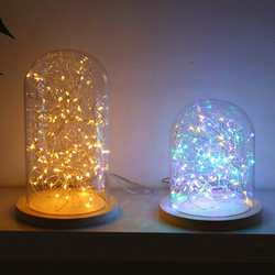led gift box light decoration copper wire small lanterns flashing lights string lights sky full of stars net red new year room layout bedroom