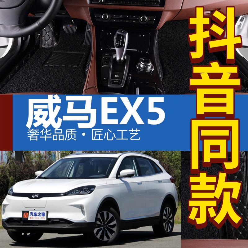 2018/19款威马EX5300/400/500v汽车全包围汽车内饰改装脚垫配件