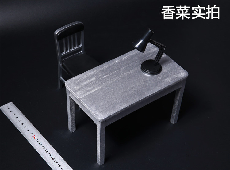 4848 Soldier Model Furniture Fittings Table Chairdesk Lamp EBay Amazing Shipping Furniture Model