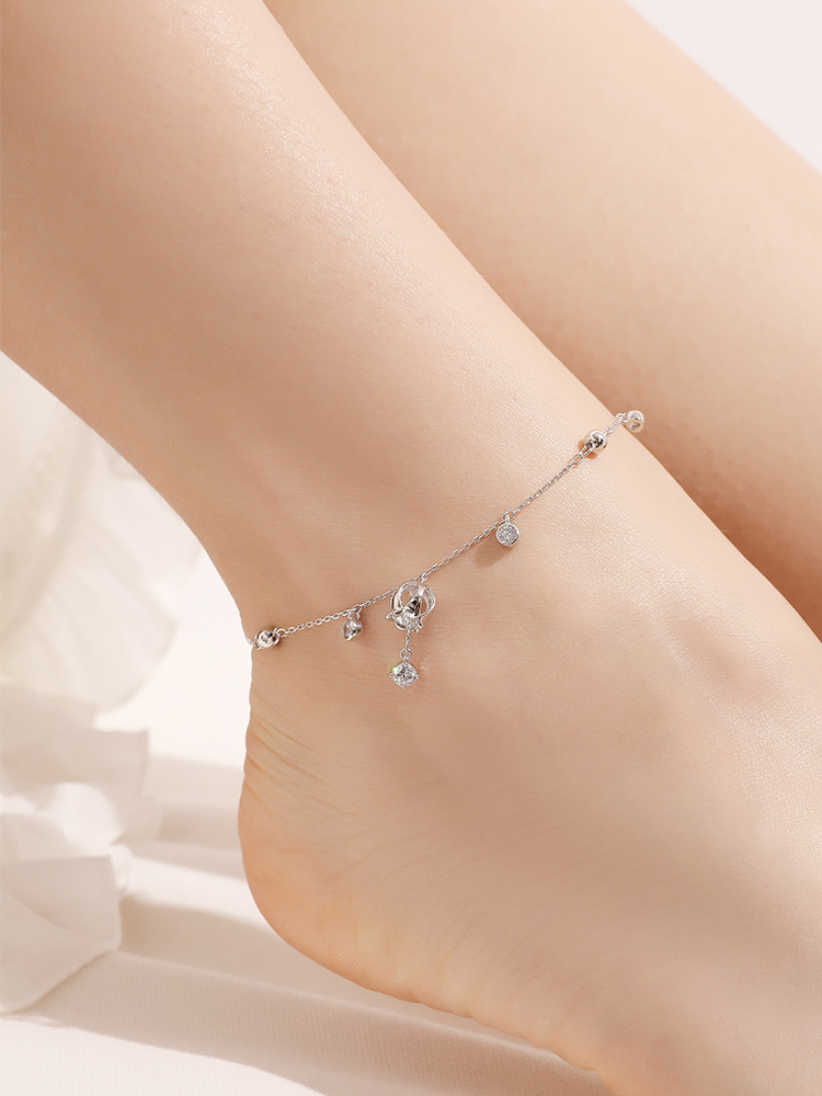 Bracelet female silver niche design ancient sexy Network Red female Korean version simple personality send girlfriend girlfriend gift