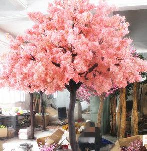 缤彩仿真樱花树大型室内装饰婚礼餐厅酒店加密定制许愿树