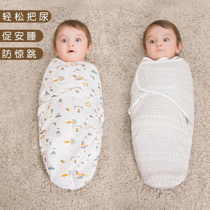 На младенца Против shies swaddling одежды пакет полотенце демисезонный Спящий мешок новорожденный детские статьи осень-зима утепленный на младенца Держа пакет есть
