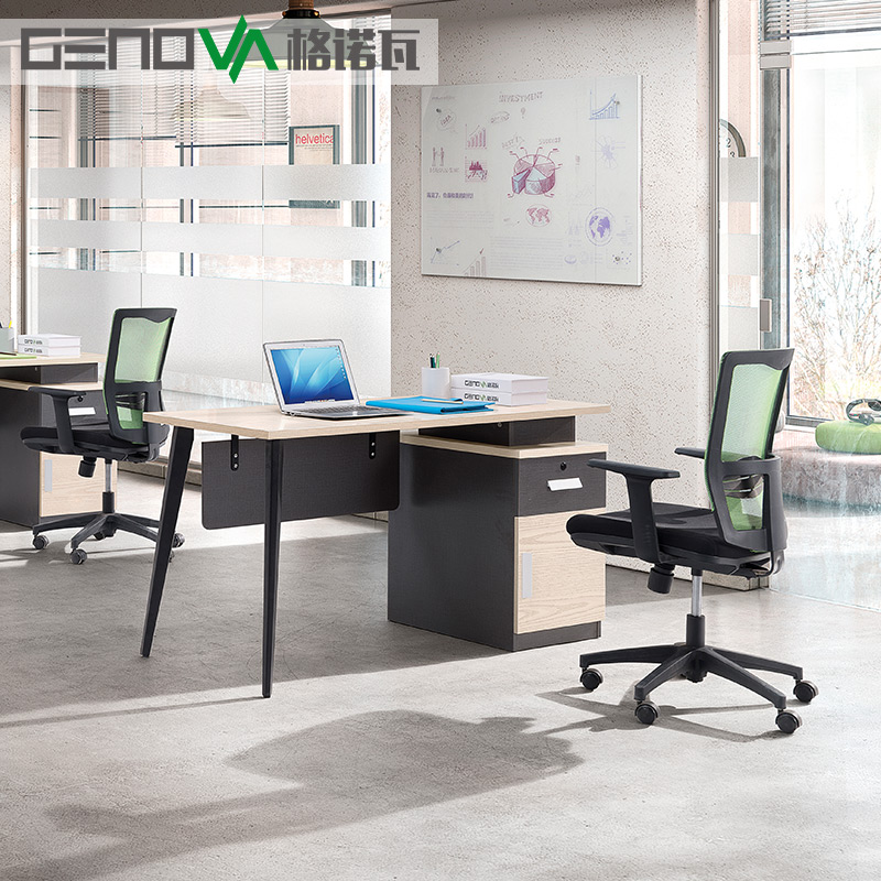 Phenomenal Genova Office Furniture Combination Desk Chair 2 People Simple Modern Four People 6 Staff Table 4 Screen Gmtry Best Dining Table And Chair Ideas Images Gmtryco