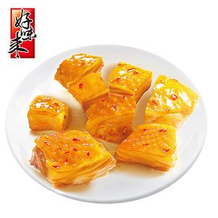香辣鸡腿肉休闲零食广东特产好味来330g盒装泡面伴侣盐焗鸡米花