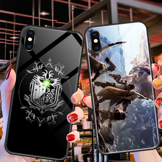 Monster Hunter Mobile Shell Apple x Huawei p30pro World OPPO Icefield 15th Anniversary vivo / iPhone11 Xiaomi 9 Glass 8plus Anime xr Game iphonex / nova5pro