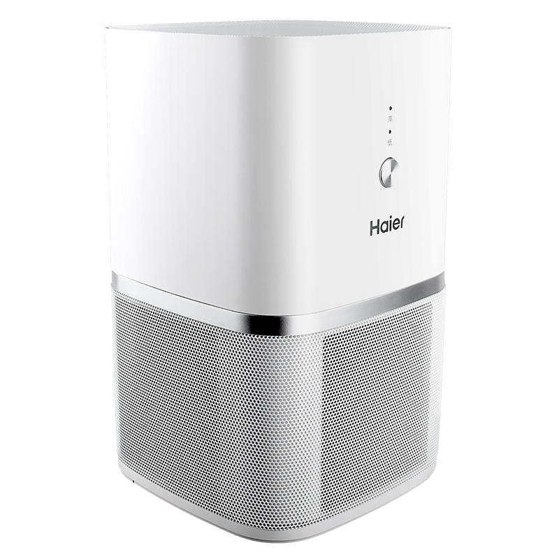 海尔桌面空气净化器 除雾霾PM2.5二手烟负离子迷你小型卧室异味【优惠后100元包邮】