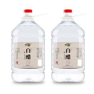 【共10斤】味思晋白醋大桶装2.5L*2