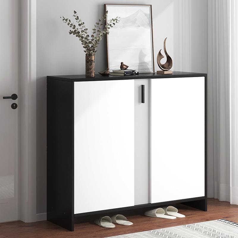鞋柜家用门口收纳大容量省空间靠墙入户多层防尘简易玄关柜一体