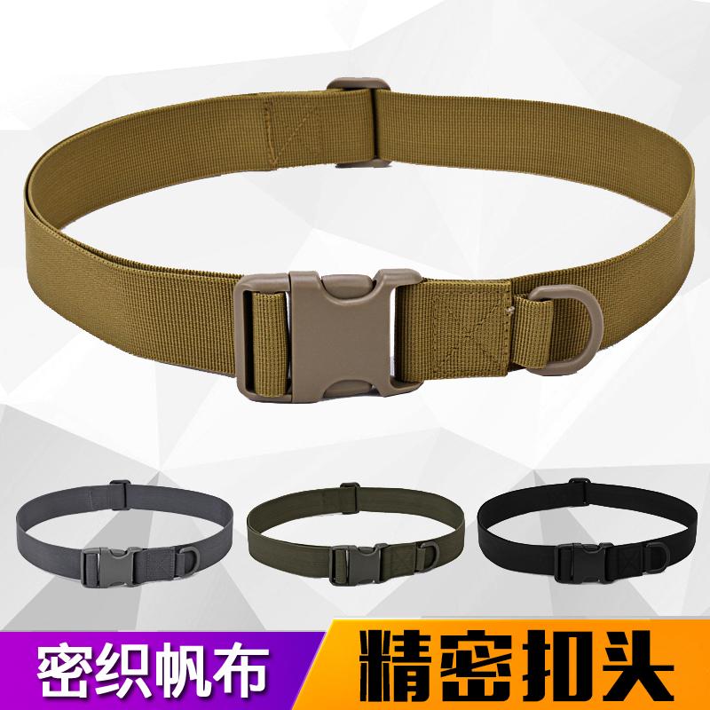 Ngoài trời chiến thuật vành đai bên trong đa chức năng fan quân đội trên khóa đào tạo bên ngoài vành đai giản dị nylon thắt lưng da nam vành đai