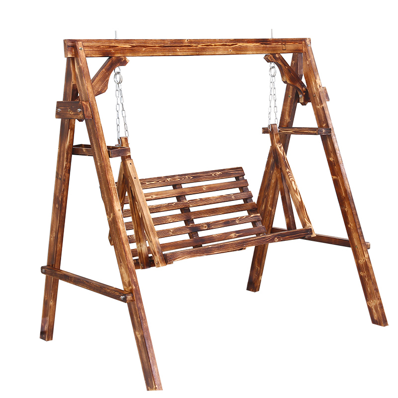 Solid wood swing indoor childrenu0027s wooden chair park rocking chair balcony anti-corrosion swing chair adult ...  sc 1 st  Ebuy7 & Solid wood swing indoor childrenu0027s wooden chair park rocking chair ...
