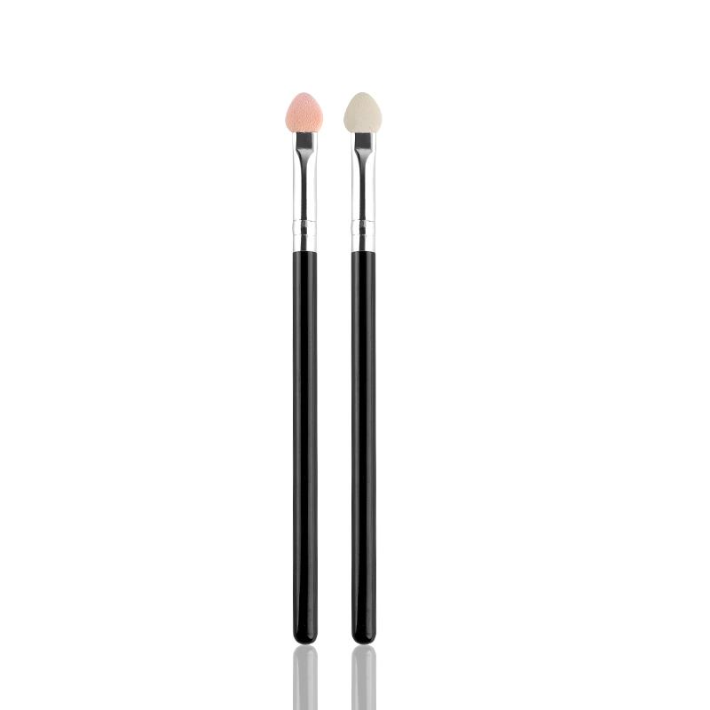LUONAIER2支装优惠眼影海绵眼影粉刷乳胶海绵眼影棒海绵头卧蚕刷