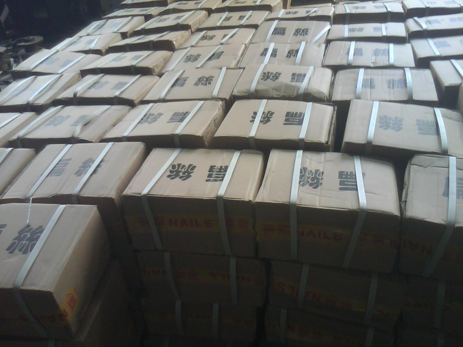 Гвозди 17#гальванизированный плоский провод медный плоский провод 25кг высокого качества коробка штапель линии рекламных казначей рекомендовал Цзянсу Чжэцзян Шанхай и Аньхой Бесплатная доставка