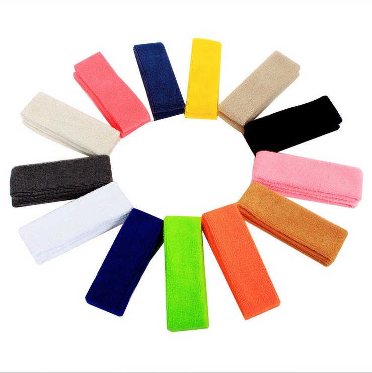 运动头巾发带纯棉男款女头带运动头巾吸汗带束发带运动篮球男女