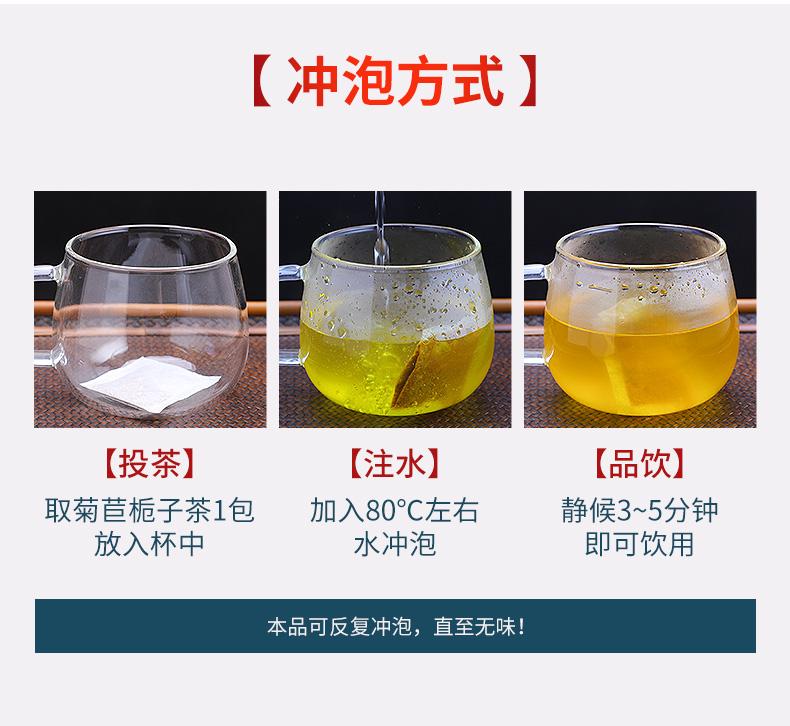修正 菊苣栀子茶 20包 降尿酸 缓解痛风 图4