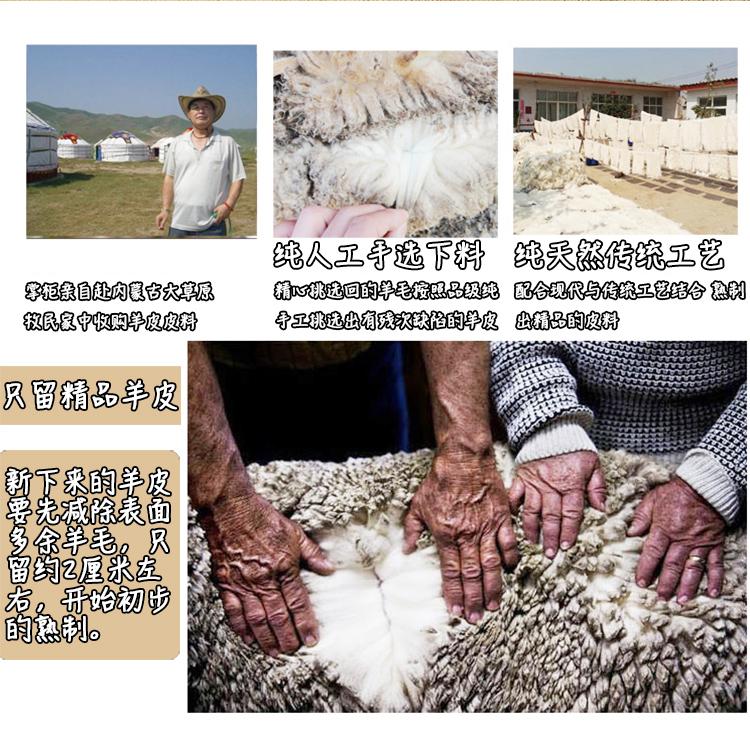 羊毛护肩保暖肩膀睡觉中老年人男女士冬季加厚护颈椎马甲羊绒防寒详细照片