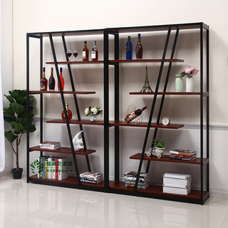 Floor-standing wine cabinet showcase display rack simple creative wine rack display cabinet living room racks consumer and commercial