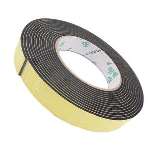 强粘力EVA黑色海绵单面胶带 防震泡沫密封胶条2-3-5-10MM厚 汽车泡沫垫条 隔音缓冲防撞单面带胶贴泡棉胶带