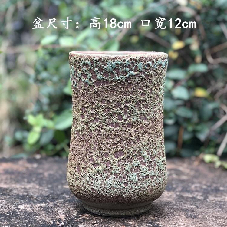 Restore ancient ways more meat plant flowerpot more contracted character coarse pottery flowerpot ceramics violet arenaceous mage gop running high pot