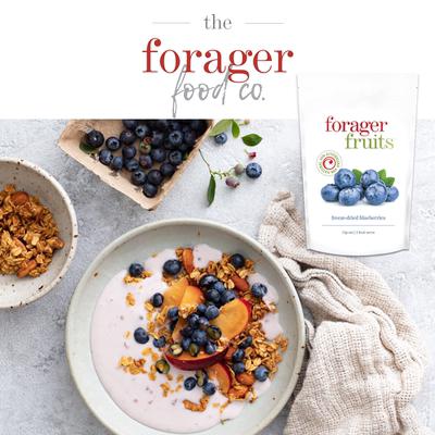 澳大利亚FF冻干蓝莓樱桃草莓芒果菠萝 健康零食小吃 婚礼伴手礼物