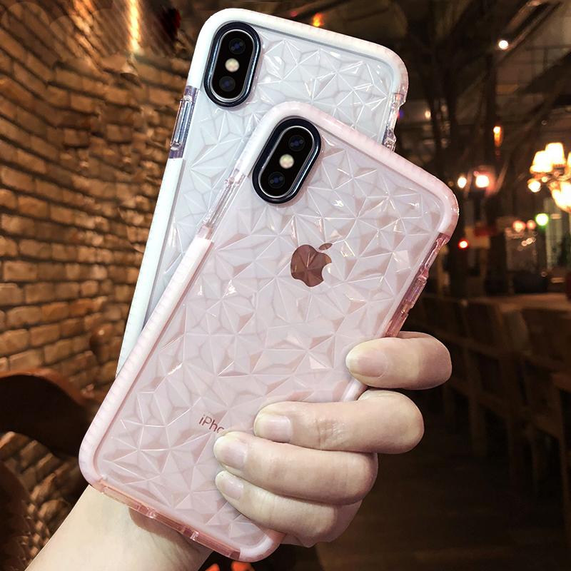 苹果x手机壳iphonex新款8plus女款iphone7硅胶xsmas全包防摔xr水感6splus网红潮牌xmax透明