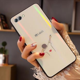 华为nova3系列炫光玻璃手机壳