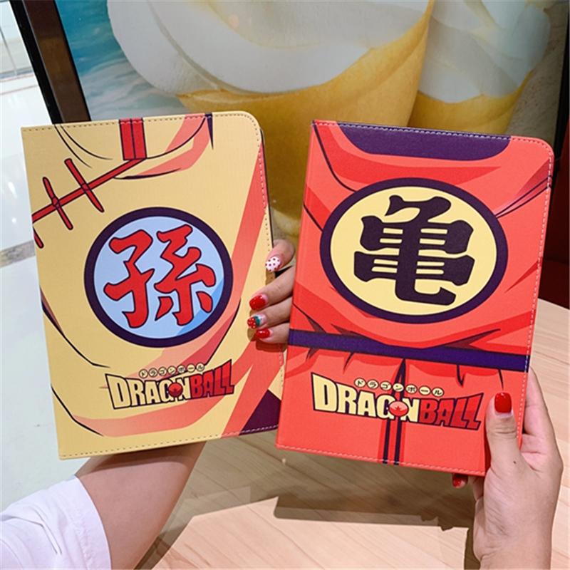Anime hoạt hình Dragon Ball Sun Wukong 2018 mới iPad bảo vệ vỏ mini5 chống rơi mini 4 máy tính bảng bằng da Apple 10,2 inch iPad7 silicon bao gồm tất cả 2019air3 bao máy tính - Phụ kiện máy tính bảng