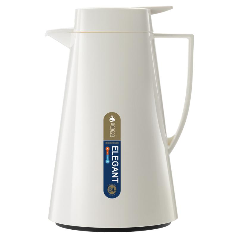 10月15日最新优惠邦达保温壶家用小 小型便携保温瓶暖热水壶大容量玻璃内胆茶壶