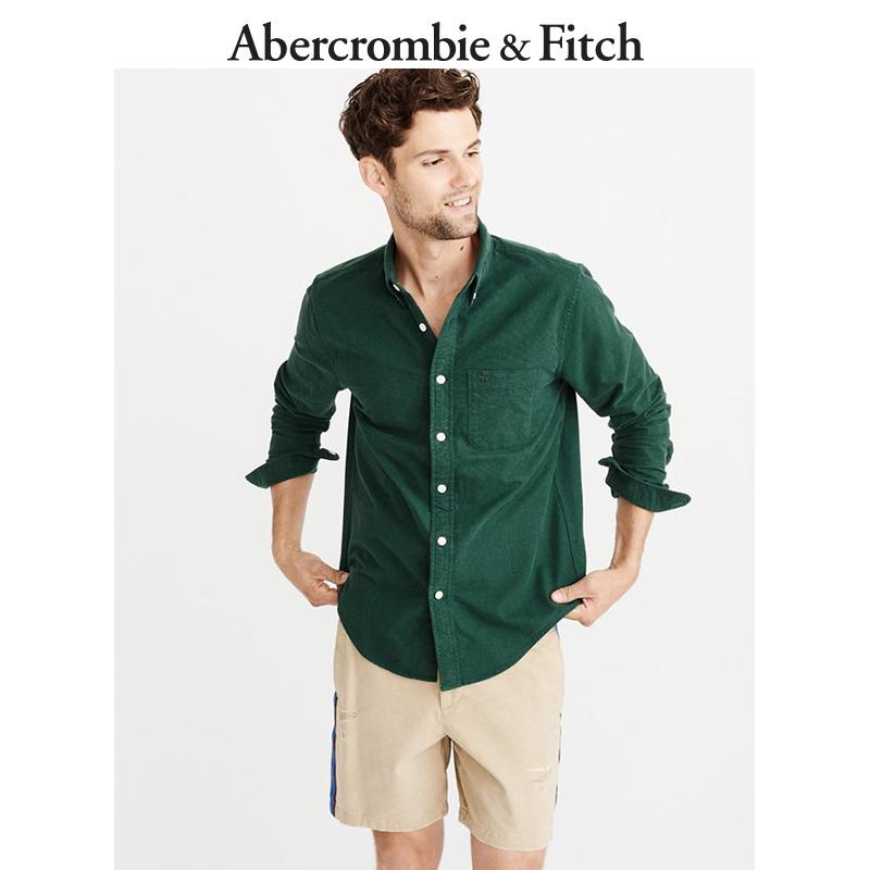 Abercrombie&Fitch男裝 標識款牛津襯衫 213479-1 AF