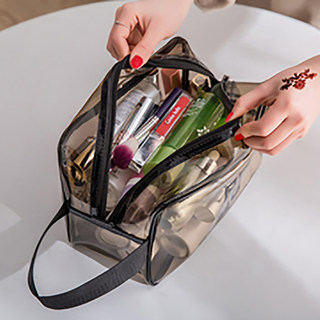 Cosmetic bag female portable travel essential artifact men's toiletries storage bag care set bath bag