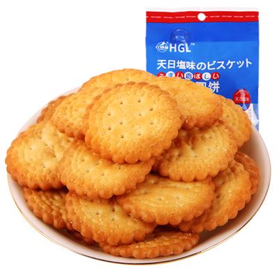 【红谷林】网红日式小圆饼干100g*6袋