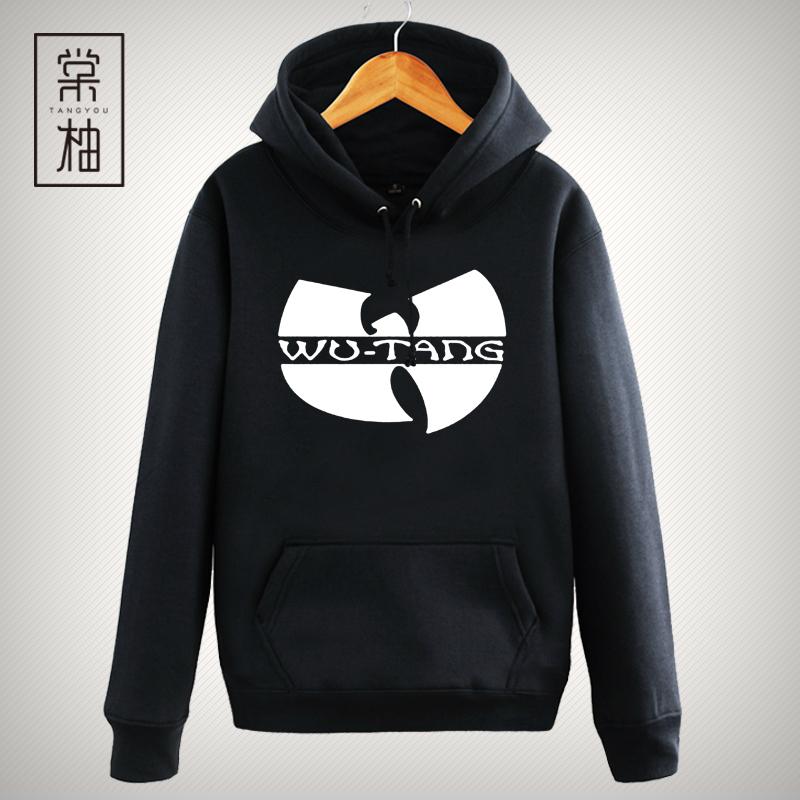 武当派Wu-TangClan音乐外套连帽卫衣HIPHOP街头时尚印花连帽嘻哈