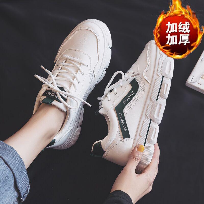 小白鞋女学生韩版百搭2020夏季新款休闲厚底老爹鞋ins运动▲板鞋女