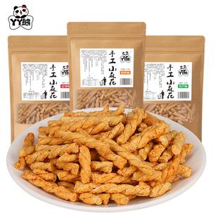 丫丫熊香酥脆零食麻花4袋