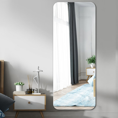 Wall Hanging Frameless Full Length Mirror Bedroom Simplicity Mirror Household Fillet Silver Mirror Decorate Wall Hanging Mirrorin The Residential Furniture Mirrors Mirror Category From Buy2taobao Com To Provide Professional Taobao Agent