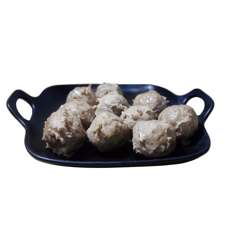 林小丸潮汕牛肉丸牛筋丸子2斤正宗手打潮州汕头手工烧烤火锅食材