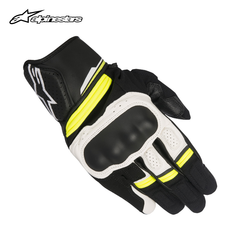 Italian Astar Alpinestars motorcycle cycling gloves touch screen reflective ventilation locomotive BOOSTER
