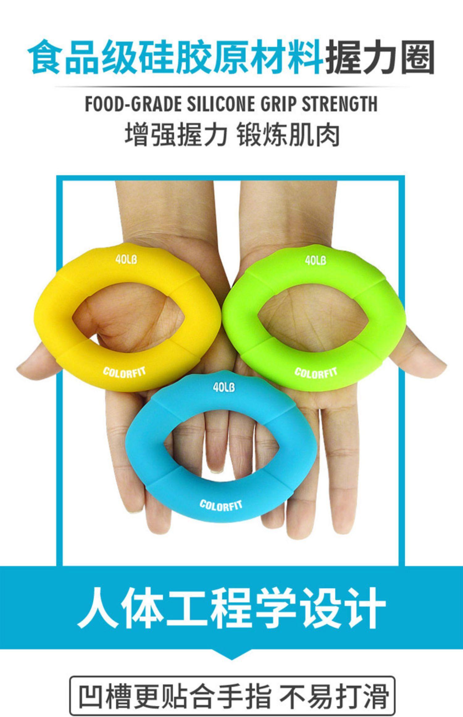 手指握力器专业练手力男女式硅胶握力球康复训练手儿童老人握力圈商品详情图