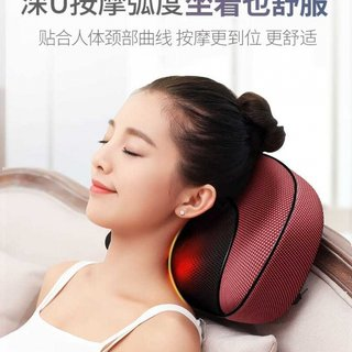 Book shoulder cervical massager neck waist shoulder neck shoulder multi-function body electric power meter neck pillow home