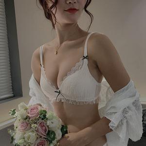 【原创】蛋糕蕾丝网纱女内衣文胸