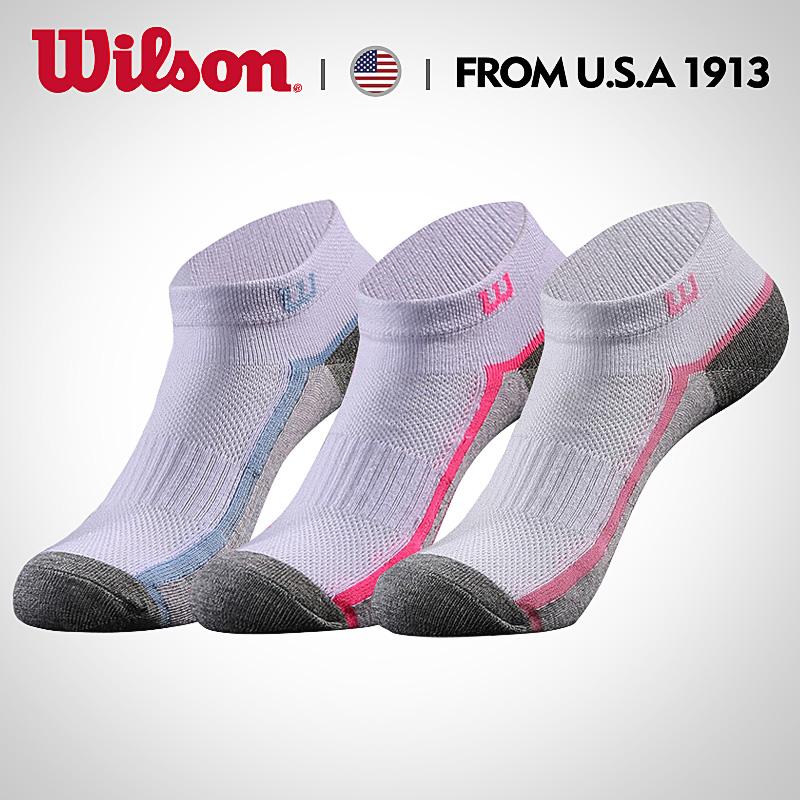 美國品牌,商場同款,Wilson威爾勝 男女款運動襪 3雙裝
