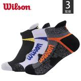 美国 威尔胜 Wilson 专业运动袜 3双装 券后19元包邮(39-20)