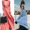 Women long maxi dress Bohemian style long skirt female wave dress skirt beach v-neck vest skirt
