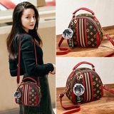Bag women 2020 new fashion all-match spring and summer Korean women's bag shoulder messenger bag mini small ck round bag